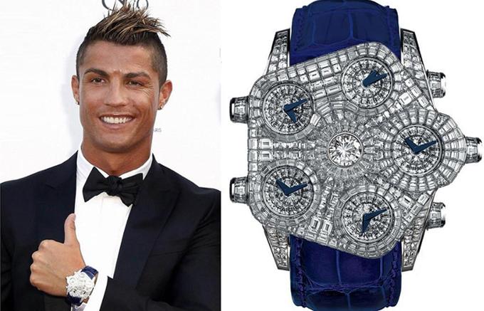 Đồng hồ trăm nghìn USD của các chân sút World Cup 2018