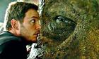 Cảnh phim 'Jurassic World' khi không có kỹ xảo