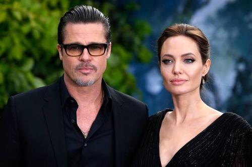 Angelina Jolie và Brad Pitt có quãng thời gian căng thẳng sau khi ly hôn.
