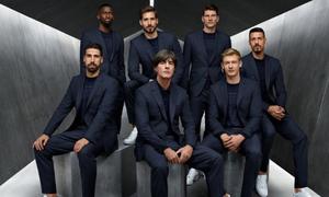Phong cách suit của cầu thủ tuyển Đức, Anh, Pháp tại World Cup