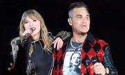 Robbie Williams diễn cùng Taylor Swift sau scandal 'ngón tay thối' ở World Cup