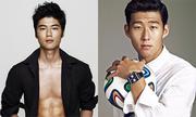 Vẻ điển trai, sành điệu của cầu thủ Hàn Quốc và Nhật Bản