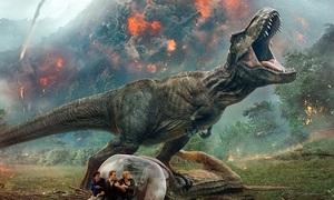 'Jurassic World 2' dẫn đầu phòng vé Mỹ