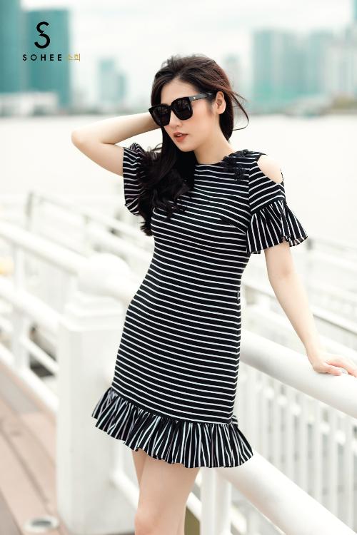 Tú Anh xuống phố với các trang phục của Sohee - 5