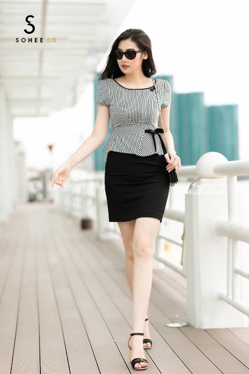 Tú Anh xuống phố với các trang phục của Sohee - 6
