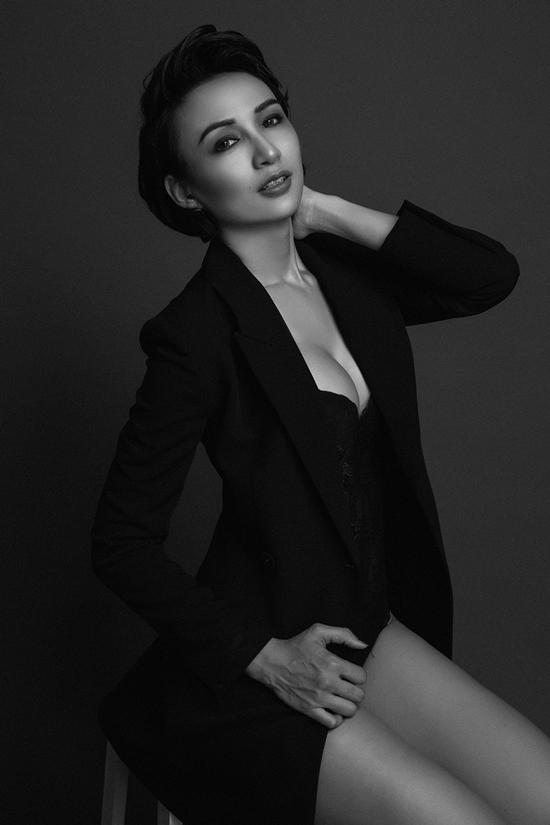 Hoa hậu Ngọc Diễm làm mới hình ảnh với tóc ngắn