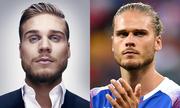 Vẻ lãng tử của tiền vệ Iceland