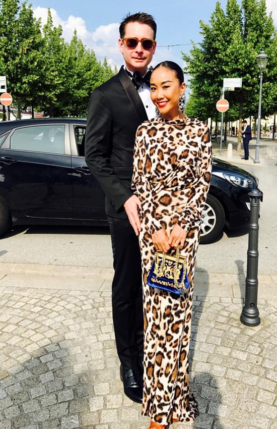 Đoan Trang cùng chồng du lịch châu Âu