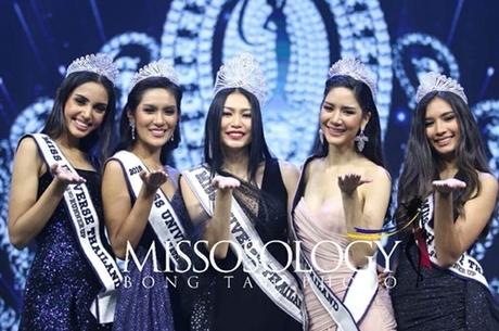 Trước đó, người đẹp Vena Praveenar Singh (trái) được nhiều người dự đoán sẽ đăng quang, song cô chỉ đạt vị trí á hậu hai.