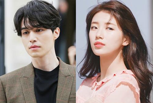 Suzy và Lee Dong Wook.