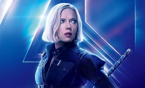 Scarlet Johansson trong bom tấn gần nhất - Avengers: Infinity War.