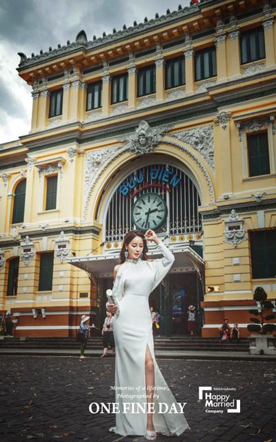 Hoa hậu World Cup Hàn Quốc khoe ảnh cưới ở Sài Gòn, Hội An - 6