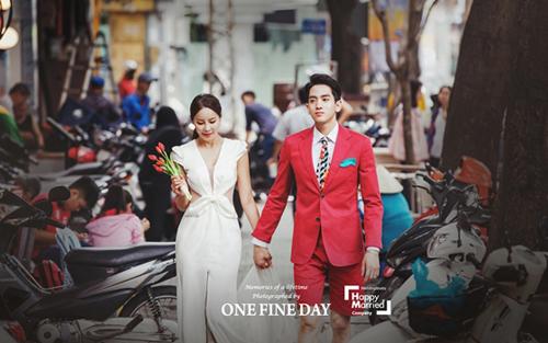 Hoa hậu World Cup Hàn Quốc khoe ảnh cưới ở Sài Gòn, Hội An - 7