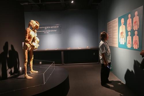 Ghép:Bên trong triển lãm cơ thể người ở TP HCM đang gây tranh cãi - 2