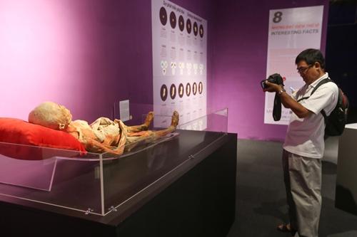 Ghép:Bên trong triển lãm cơ thể người ở TP HCM đang gây tranh cãi - 8