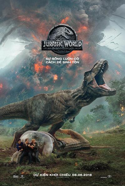 Phim là phần hai của loạt phim Jurassic World.