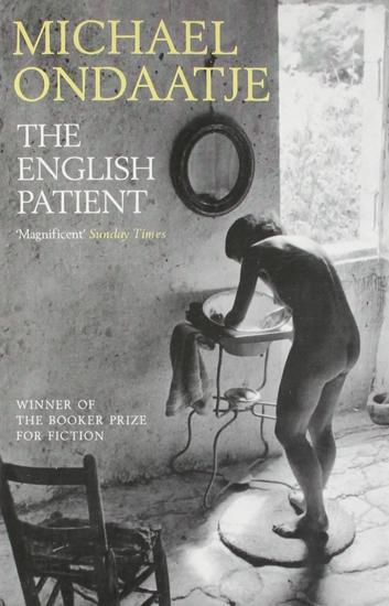 Bìa tiểu thuyết The English Patient.