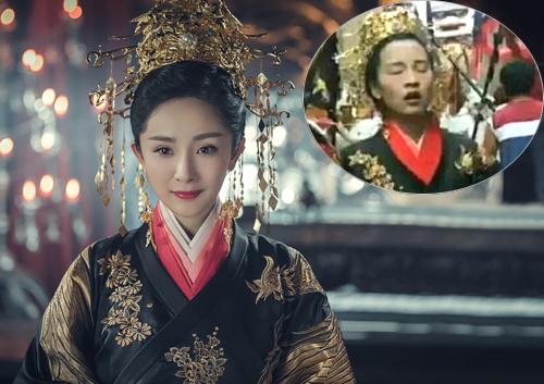 Theo QQ, một diễn viên nam giúp Dương Mịch nhảy kiệu, không những vậy, anh này còn diễn hộ cô cảnh chạy bộ.