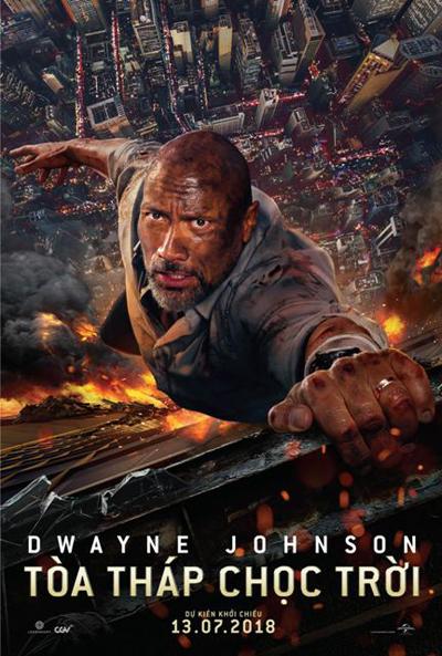 Dwayne Johnson trong phim mới.