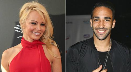 Pamela Anderson và Adil Rami hẹn hò từ khi gặp nhau ở giải Monaco Grand Prix tháng 5/2017.