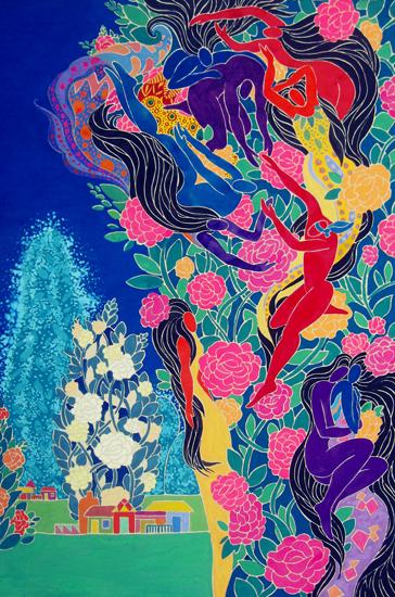 Triển lãm Xứ thần thoại của họa sĩ Đặng Việt Linh sẽ diễn ra từ ngày 13 đến 17/7/2018 tại Trung tâm triển lãm Mỹ thuật - nhiếp ảnh (29 Hàng Bài, Hà Nội). Triển lãm giới thiệu bộ tranh mới gồm 30 tác phẩm gồm 18 bức tranh bột màu trên giấy dó và 12 bức tranh sơn dầu trên canvas, được sáng tác trong khoảng 3 năm.