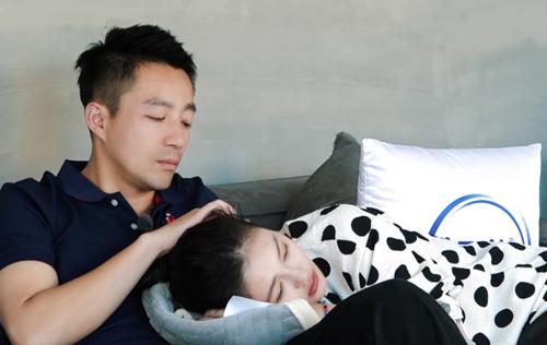 Vợ chồng Từ Hy Viên trong show thực tế.