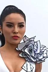Hoa hậu, siêu mẫu dầm mưa diễn thời trang trên núi ở Đà Nẵng