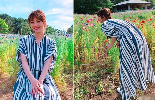 Trang phục giấu bụng bầu của Mỹ nhân đẹp nhất Nhật Bản - 11