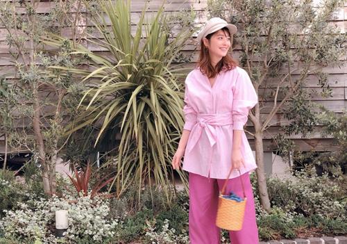 Trang phục giấu bụng bầu của Mỹ nhân đẹp nhất Nhật Bản - 3