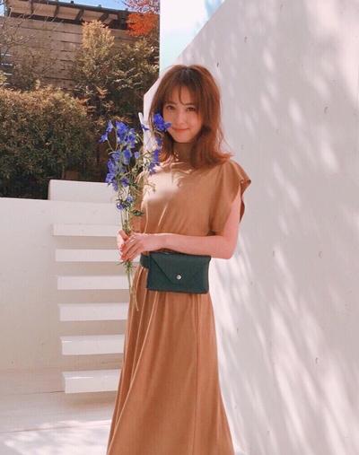 Trang phục giấu bụng bầu của Mỹ nhân đẹp nhất Nhật Bản