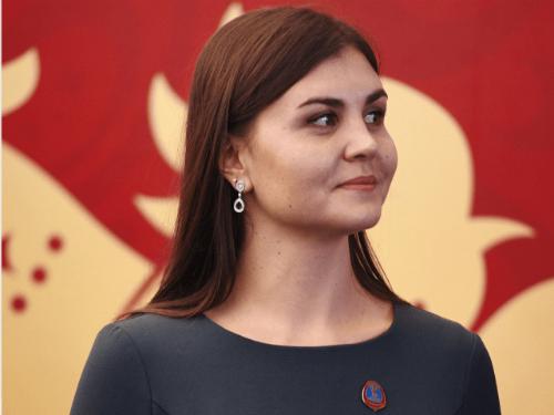 Vận động viên bơi lội Larisa Ílchenko người Nga là một trong những đại sứ của World Cup 2018.
