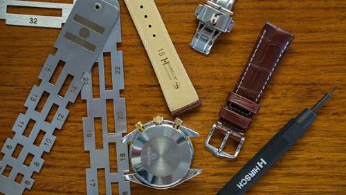 Hirsch, một trong những thương hiệu dây da đồng hồ tốt nhất thế giới.