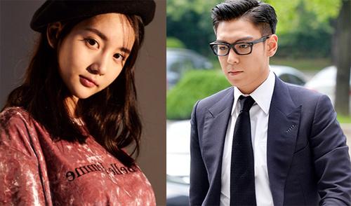 Han Heo Hee và T.O.P từng là tình nhân.
