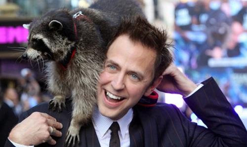 James Gunn nổi tiếng với các hành động táo bạo trước công chúng. Anh từng mang một con gấu mèo đến buổi ra mắt Guardians of the Galaxy. Tác phẩm này có một nhân vật là gấu mèo biết nói (Rocket Raccoon).