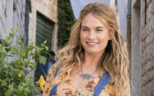 Lily James mang đến sức trẻ cho Mamma Mia!2.