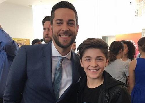 Zachary Levi (phải) vàAsher Angel sẽ đóng nhân vật chính ở hai trạng thái khác nhau.