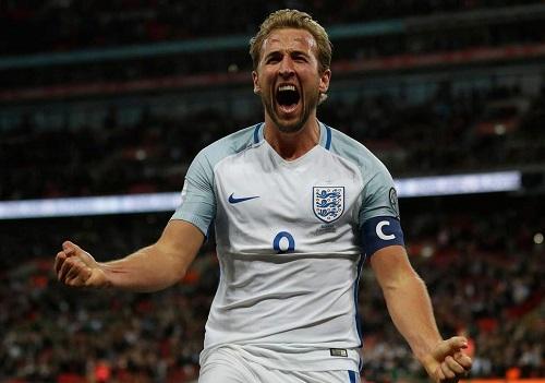Chân sút Harry Kane củaAnh là vua phá lưới World Cup với sáu bàn. Ảnh: AFP.