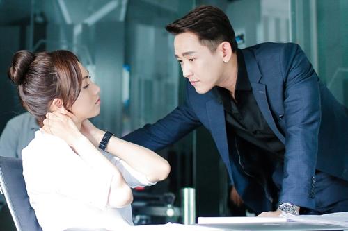 Hứa Vĩ Văn vào vai chàng giám đốc thành đạt, lịch lãm trong phim mới Chàng vợ của em bên diễn viên Phương Anh Đào.