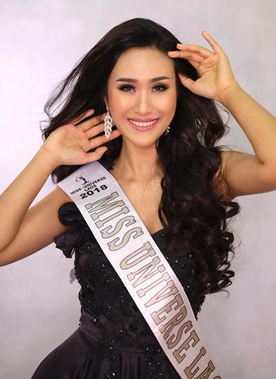 Ngày 23/7, trên website chính thức, ban tổ chức của Hoa hậu Hoàn vũ Lào thông báo cử On-anong Homsombath dự thi Miss Universe 2018. Cô trở thành Hoa hậu Hoàn vũ Lào 2018, nhận lại vương miện và dải băng từ người tiền nhiệm Souphaphone Somvichith.