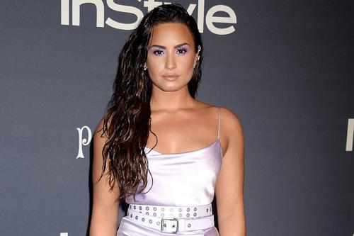 Demi Lovato nghiện ngập từ nhiều năm nay. Ảnh: Rex.