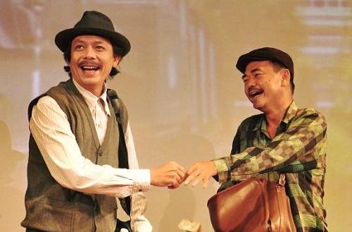 Thanh Hoàng (trái) và Việt Anh.