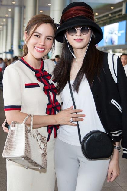Cả haigặp nhau trong một lần Phương Lê sang Thái chụp ảnh tạp chí.