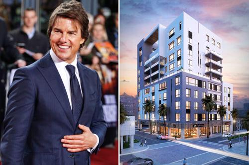 Căn Penthouse ở chung cư mới của Tom Cruise tại Florida.