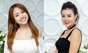 Dàn sao Việt diện váy hở vai đi sự kiện