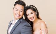 Con gái NSND Hồng Vân cùng chồng về nước làm tiệc báo hỷ