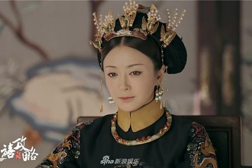 Diễn viên Tần Lamvào vaiPhú Sát Hoàng hậu. Tạo hình và phục trangcủa cô cũng được chăm chút nhất phim nhằm tônvẻ sang trọng, quý pháicủa bậc mẫu nghi thiên hạ.