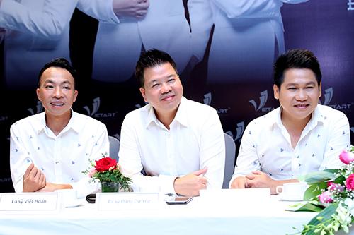 Bộ ba Việt Hoàn, Đăng Dương, Trọng Tấn luôn coi nhau như anh em trong gia đình.