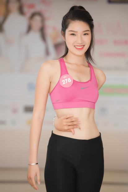 Thí sinh Lại Quỳnh Giang.