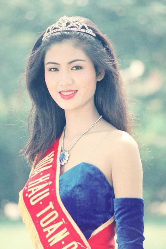 Biến đổi nhan sắc của hoa hậu Thu Thủy sau hơn 24 năm