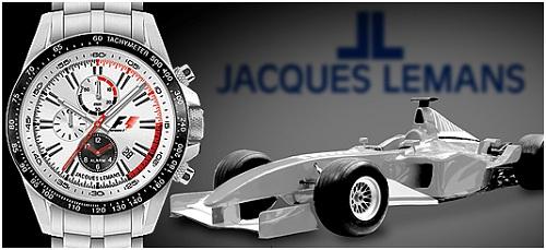 Ra đời năm 1975 tại Thụy Sĩ, Jacques Lemans tiếp thu các thành tựu công nghệ mới của ngành chế tạo đồng hồ Thụy Sĩ để có mặt ở 135 nước trên thế giới. Đây là hãng động hồ được mang logo Formula 1 TM (giải đua ôtô công thức 1) trên đồng hồ dòng thể thao.